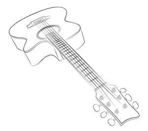 77408001-guitar-sketch-