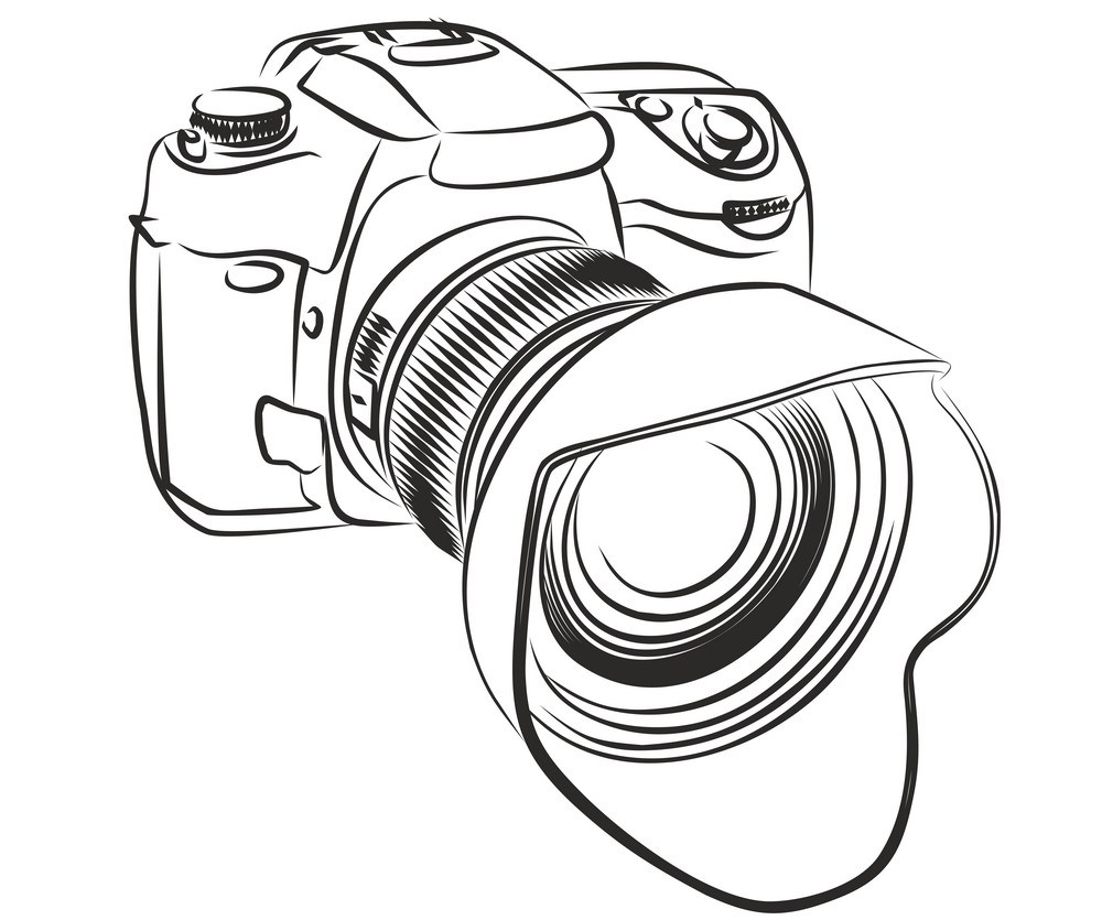 sketch-of-camera-vector-22498498